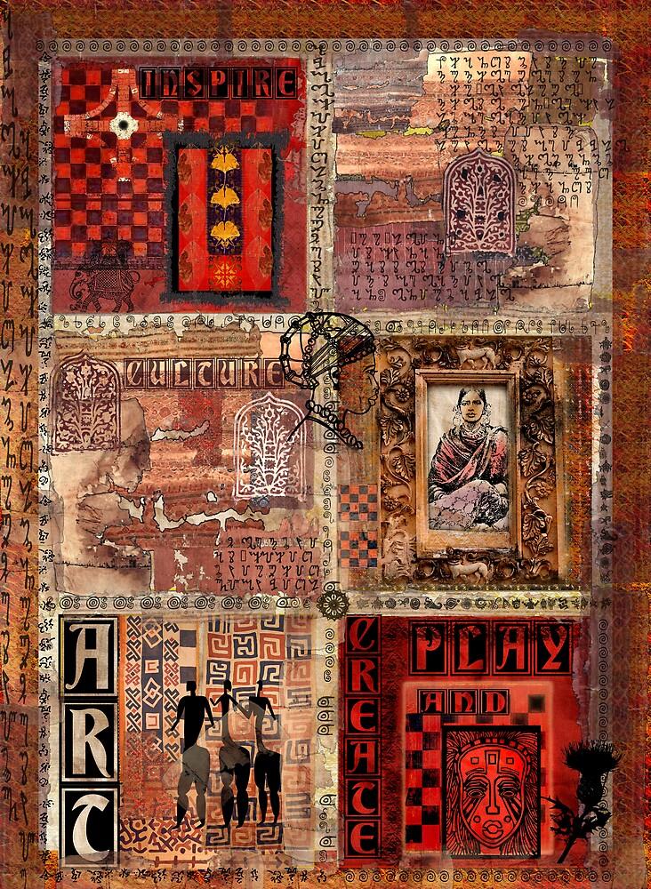 Exotic fragments by Sabine Spiesser