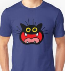 Crazy Cat by Cheerful Madness!! Unisex T-Shirt