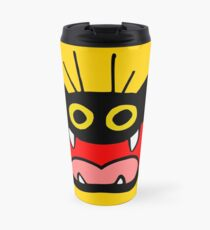 Crazy Cat by Cheerful Madness!! Travel Mug