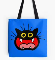 Crazy Cat by Cheerful Madness!! Tote Bag