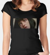 Mia Wallace OD  Women's Fitted Scoop T-Shirt