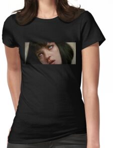 Mia Wallace OD  Womens Fitted T-Shirt