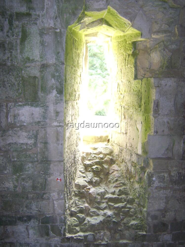 castle window by jaydawnooo