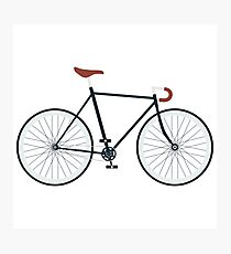 Fixie, Fixed Gear, Biking Cycler Photographic Print