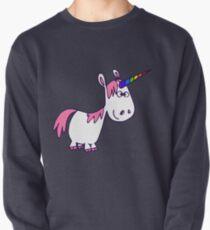 Cute Rainbow Cartoon Unicorn by Cheerful Madness!! Pullover