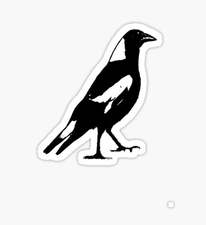 the magpie Sticker