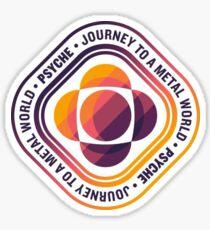 Psyche Mission Logo Sticker