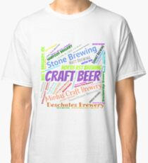 Best Craft Beer Breweries Classic T-Shirt