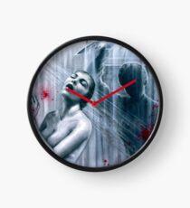 Shower Slasher Clock