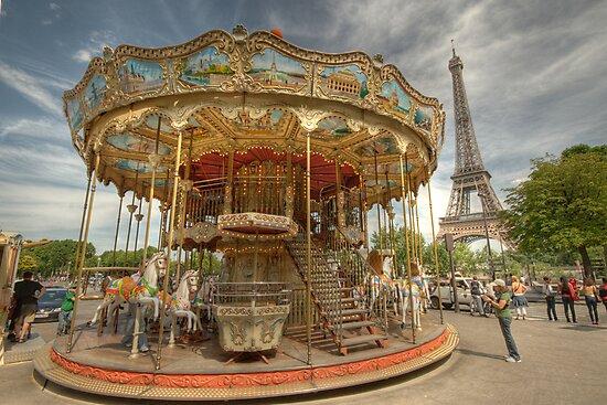 Paris Carousel by Craig Goldsmith