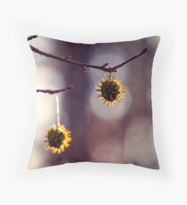 Forest Ornaments Throw Pillow