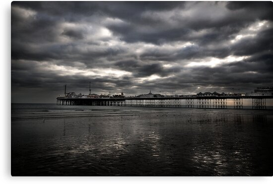Brighton pier by Matthew Bonnington