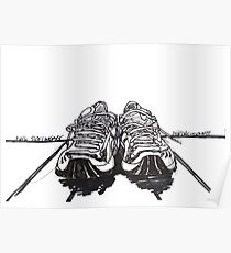 Running Shoes Poster