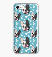 Happy French Bulldog iPhone Case/Skin