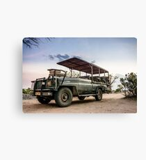 Safari Land Cruiser Canvas Print