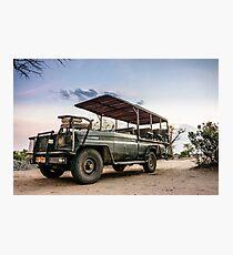 Safari Land Cruiser Photographic Print