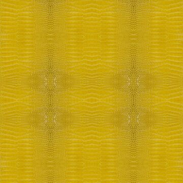 Yellow Alligator Skin by pharostores