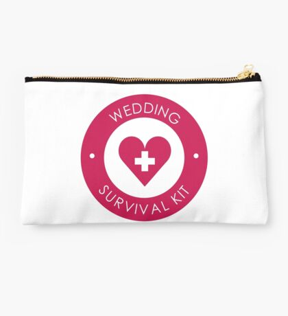 Wedding Survival Kit Studio Pouch