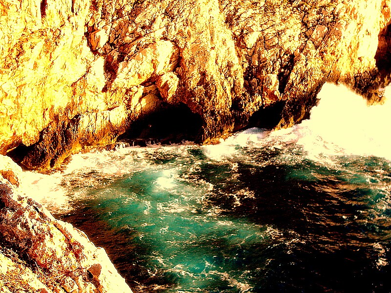 Rock & Sea by honey
