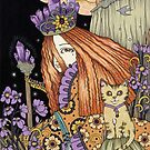 Amethyst & Violet by Anita Inverarity