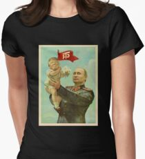 BABY TRUMP WITH PUTIN Women's Fitted T-Shirt
