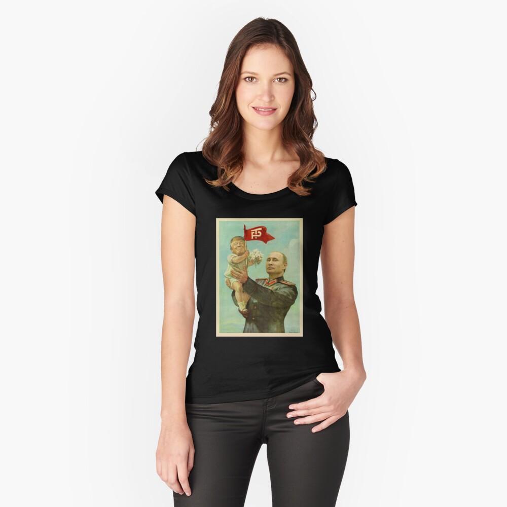 BABYTRUMPF MIT PUTIN Tailliertes Rundhals-Shirt