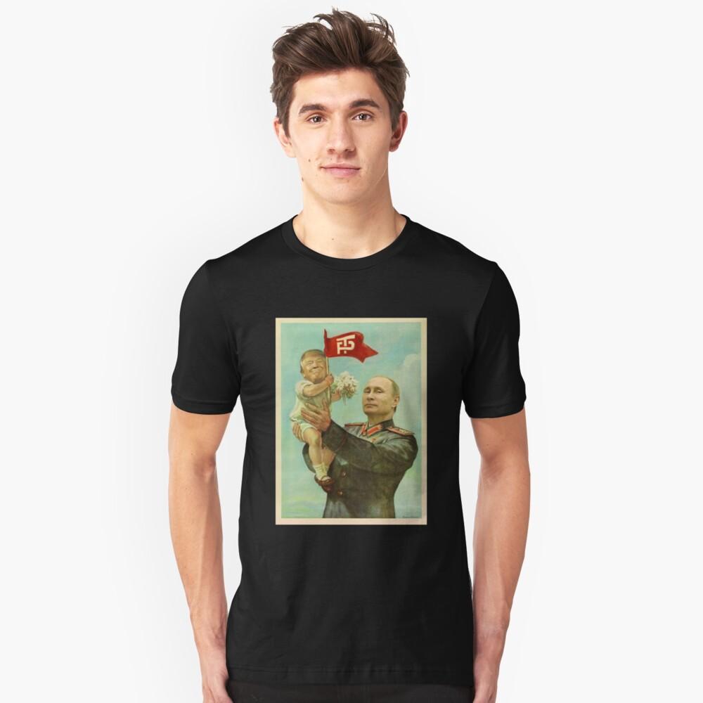 Camiseta unisexBABY TRUMP WITH PUTIN Delante
