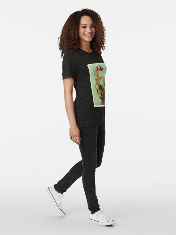 Alternative Ansicht von BABYTRUMPF MIT PUTIN Vintage T-Shirt