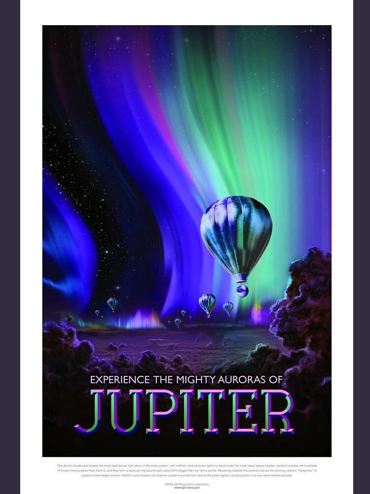 Jahrgang Jupiter Mighty Auroras Ballonfahrt von pdgraphics