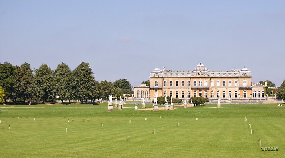 Wrest Park Croquet Lawn by dozzie