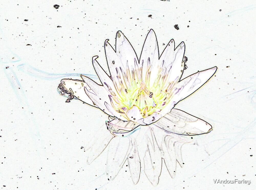 Minimalist Lily by VAndowFarley