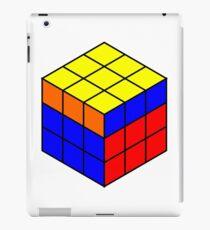 rubik cubes iPad Case/Skin