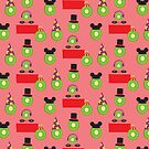 Ain't No Party Like A Kiwi Party (Pattern) by Cray-Z