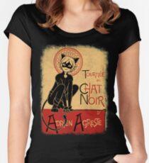 Tournee du Chat Noir Women's Fitted Scoop T-Shirt