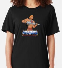Masters Of The Universe - Logo - Clean Slim Fit T-Shirt