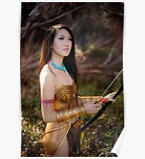 Battle Pocahontas Cosplay Poster