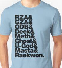 shaolin land (black) Unisex T-Shirt