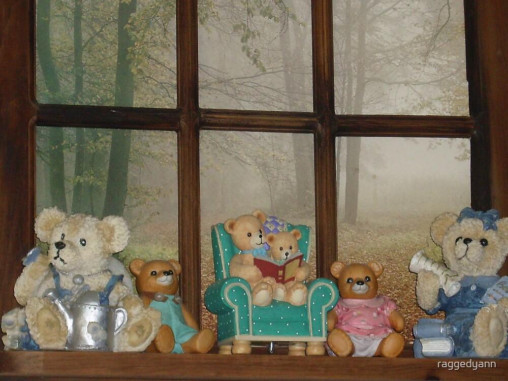 teddybear by raggedyann