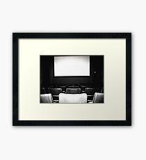 Theater Framed Print