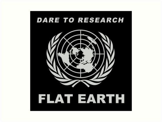 Dare to research flat earth flat earth theory map logo classic dare to research flat earth flat earth theory map logo classic silver grey by flatearth1111 thecheapjerseys Images