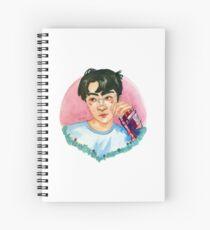 Lucky One Sehun Watercolor Spiral Notebook