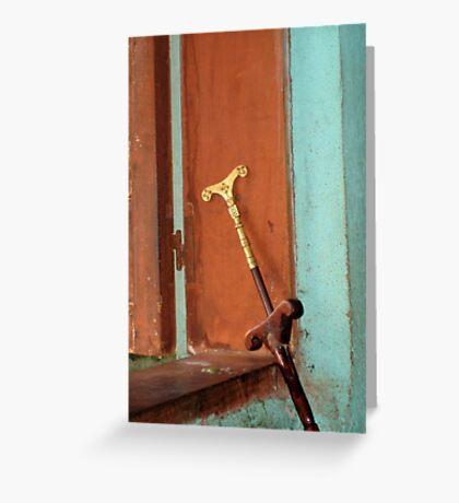 Mequamia, Ethiopian prayer stick Greeting Card