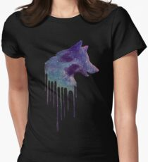The Universe Exists in Us All Womens Fitted T-Shirt