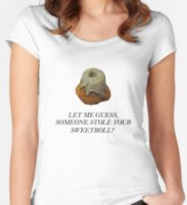 Skyrim - Sweetroll Women's Fitted Scoop T-Shirt