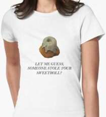 Skyrim - Sweetroll Women's Fitted T-Shirt