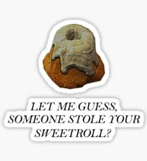 Skyrim - Sweetroll Sticker
