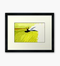 flying fish Framed Print