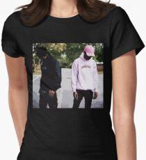 Xxxtentacion X Ski Mask the Slump God Womens Fitted T-Shirt