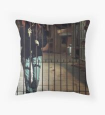 The Urban Way #1 - Frontyard Throw Pillow