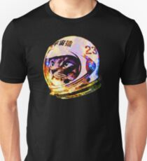 Astronaut Space Cat (tiefe Galaxieversion) Unisex T-Shirt
